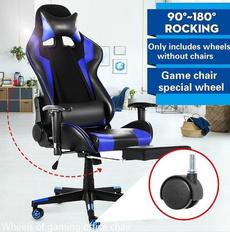 Wheels, rotatable, swivel, highbackchair