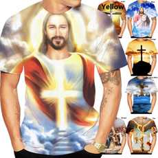 Mens T Shirt, Fashion, jesusshirt, summer t-shirts