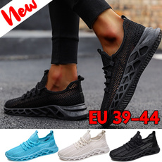 Sneakers, Plus Size, Outdoor, meshshoesformen