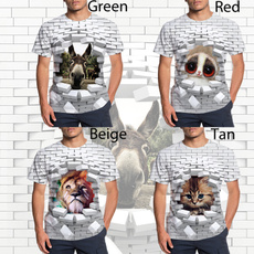 Summer, Shirt, wallholetshirt, Tops