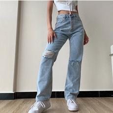 womens jeans, Fashion, y2kpant, plus size jeans