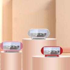 led, Wireless Speakers, portable, Clock