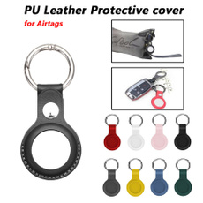 IPhone Accessories, case, leather, protectivecoverforairtag