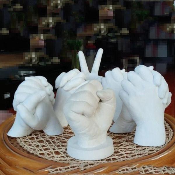 footprintsclone, babysouvenir, moldingampcasting, handmold
