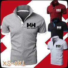 Fashion, tshirt men, Golf Shirts, slim