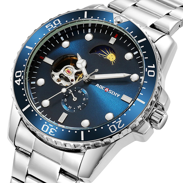 Steel, watchformen, business watch, Gifts