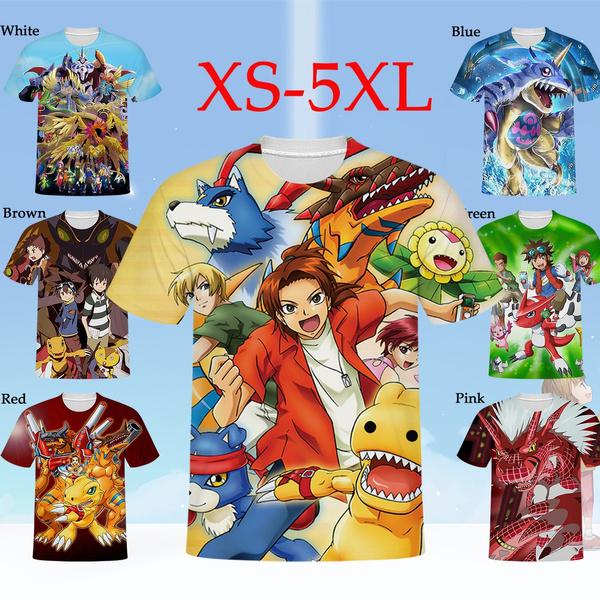 Mens T Shirt, Plus Size, animeshortsleeve, Summer