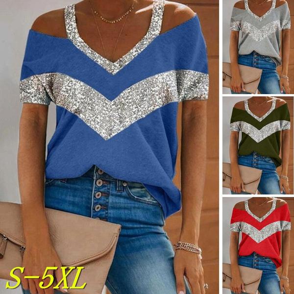 Summer, Shorts, Sleeve, Tops