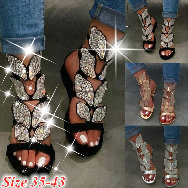 butterfly, Summer, Sandals, Fashion