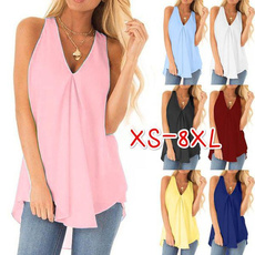halter top, Summer, sleevelessvest, Shirt