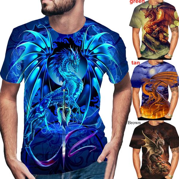 Blues, Tees & T-Shirts, dragontshirt, bluedragon