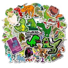 Car Sticker, diy, suitcasesticker, Dinosaur