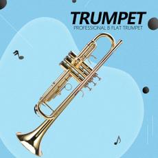 Brass, windinstrument, Musical Instruments, musicstand