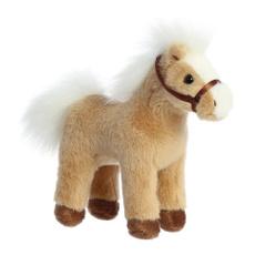 sound, brown, horse, barnyard