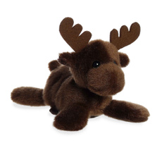 brown, moose, Small, Magnetic