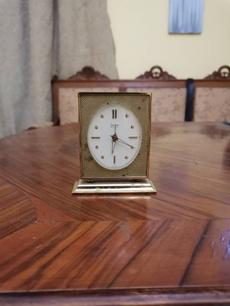 Antique, Vintage, Swiss, Clock
