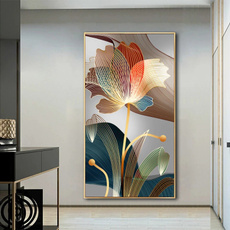 golden, modernstyle, Wall Art, Home Decor