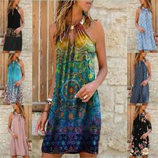 fashion women, halter dress, short dress, Halter