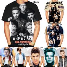 Mens T Shirt, Fashion, onedirectiontshirt, Summer