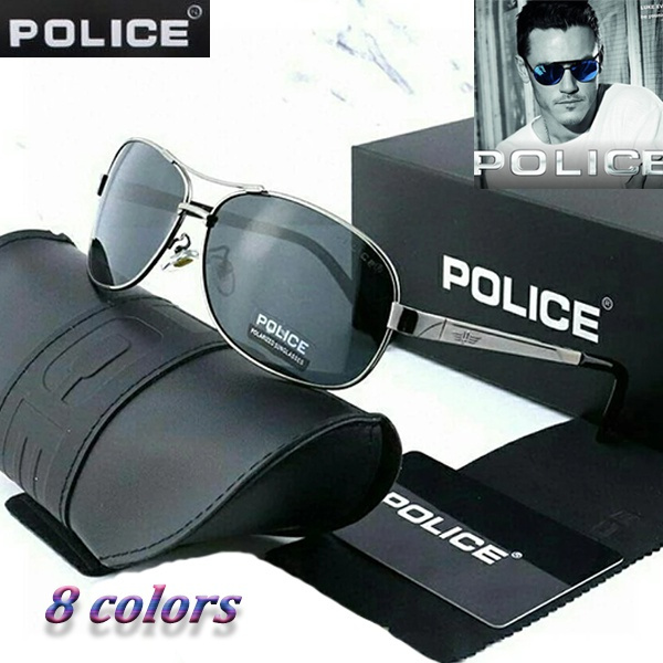 Box, Men, black sunglasses, UV Protection Sunglasses