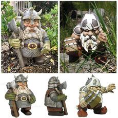 viking, Home & Kitchen, gardengnome, dawarf