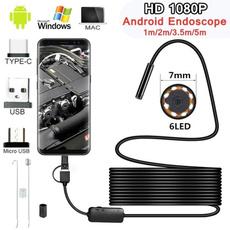 Webcams, borescope, led, Waterproof
