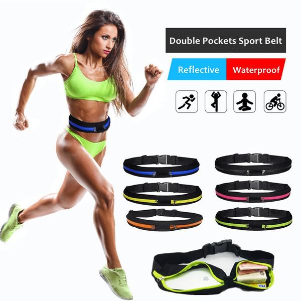 Outdoor, running belt bag, Waterproof, Running