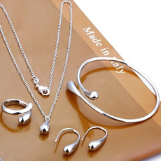 water, Sterling Silver Jewelry, Jewelry, Chain