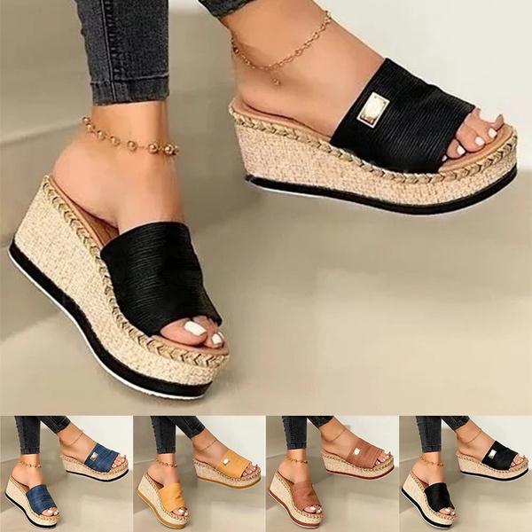 beach shoes, Flip Flops, Sandals, Platform Shoes