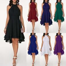 Summer, womens dresses, Cocktail, asymmetric