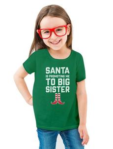 sister, Christmas, big, toddlerkid