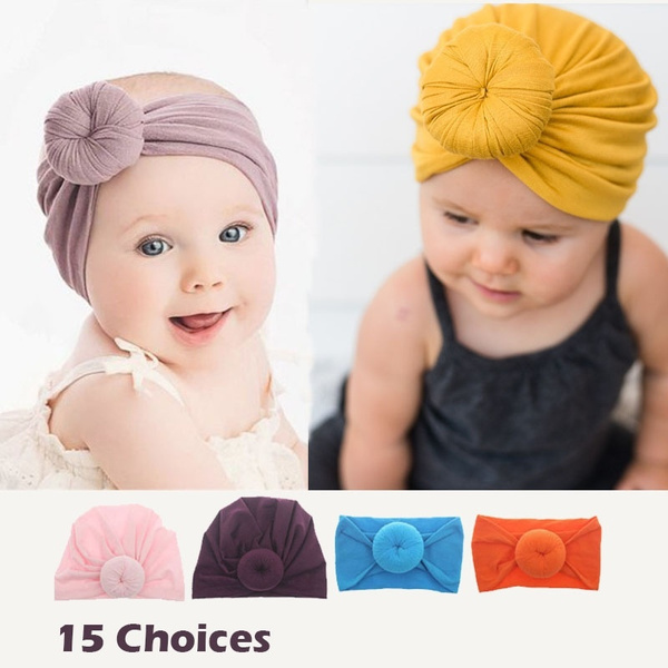 Baby Girl, Fashion, cottonhat, turbanhat