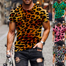Summer, Plus Size, leopard print, Топи