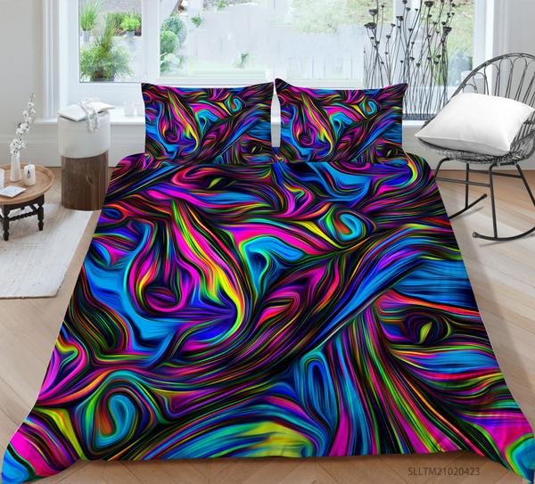 rainbow, 3pcsbeddingset, girlsbeddingset, Bedding