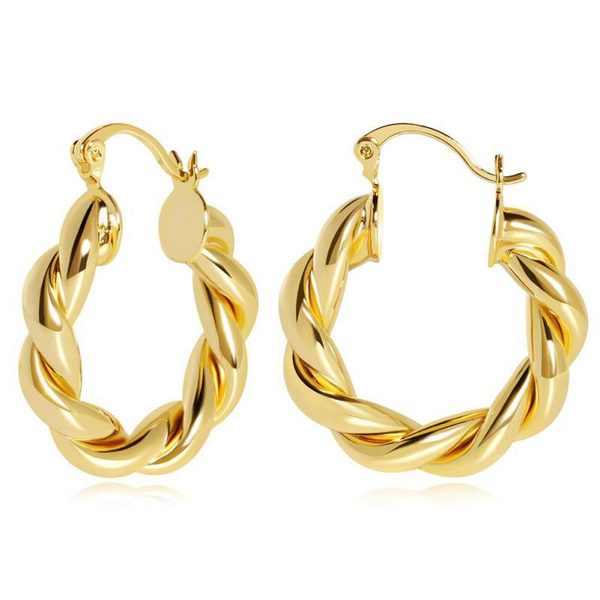 14kgoldearring, exquisite jewelry, Gifts, gold
