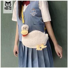 Funny, ducktoy, Shoulder Bags, photographicprop