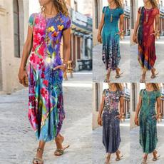 Summer, Plus Size, halter dress, Dress