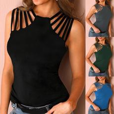 blouse, Summer, Halterneck Top, Sexy Top