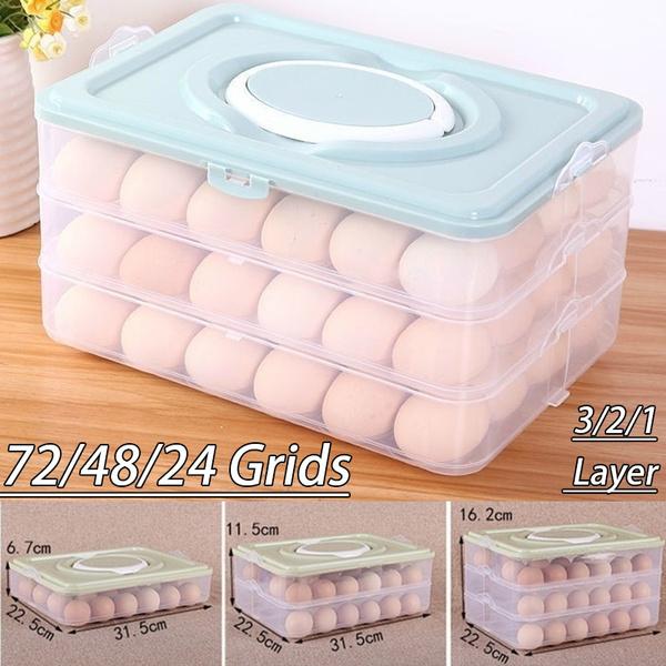 eggstorageboxe, case, eggstoragetool, 3layerstoragebox