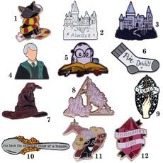 Owl, Fashion, Pins, harrypotterbadge
