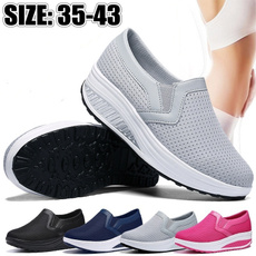 Summer, Sneakers, breathableshoesforwomen, Fitness