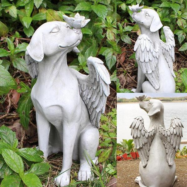 cute, Garden, Angel, decoration