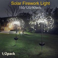 dandelionlamp, lawnlight, fireworklight, Garden