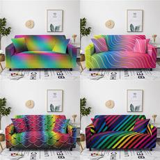 rainbowsofacover, rainbow, sofacover3seater, Spandex