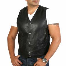 bikerjacket, Men's Fashion, punkvest, motorcyclevest