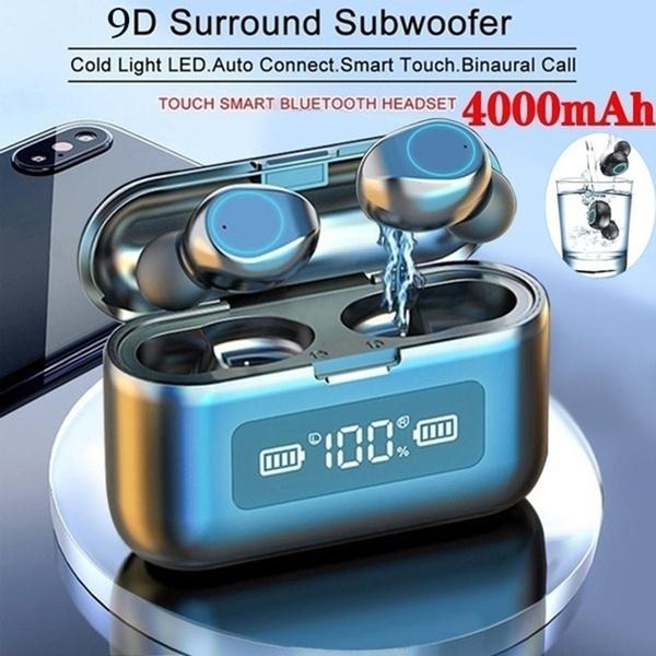 twsearphone, led, Waterproof, Headset