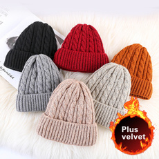 menandwomenknittedhat, Warm Hat, Fashion, velvet