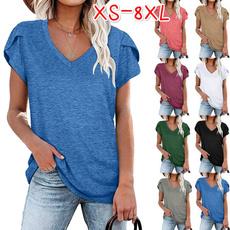 blouse, Tops & Tees, Plus Size, Cotton Shirt