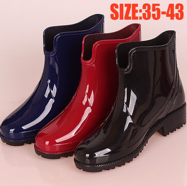non-slip, ankle boots, rainboot, Waterproof