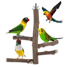 parakeettoy, woodbirdperch, Natural, birdtoy